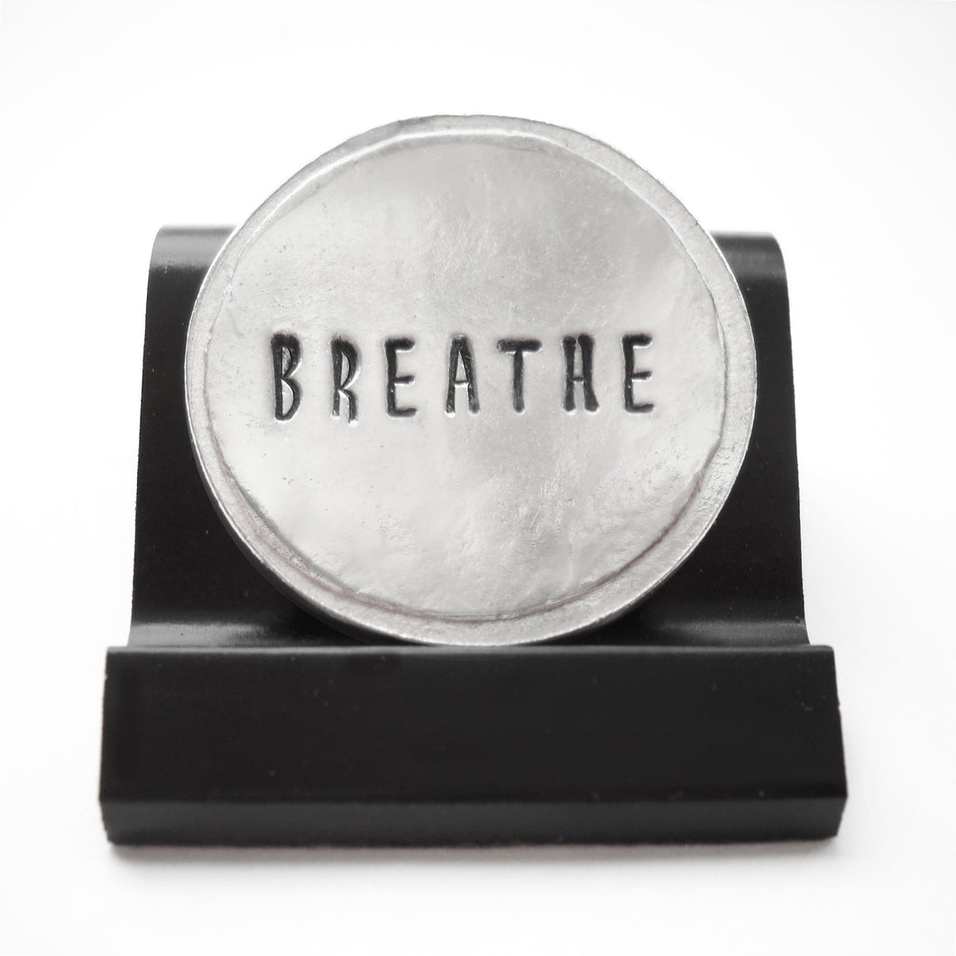 Breathe Courage Coin