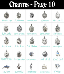 Build a Bangle with 6 Charms!