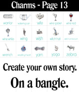 Build a Bangle with 4 Charms!