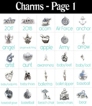 Load image into Gallery viewer, Build a Bangle with 8 Charms!