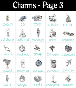 Build a Bangle with 8 Charms!