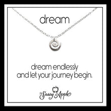 Load image into Gallery viewer, Dream - One Word Carded Necklace