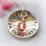 Love Thy Mother Sterling Silver Necklace