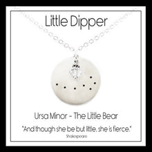 Load image into Gallery viewer, Little Dipper Constellation Necklace