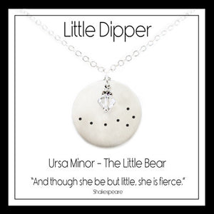 Little Dipper Constellation Necklace