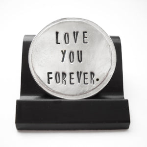Love You Forever Courage Coin