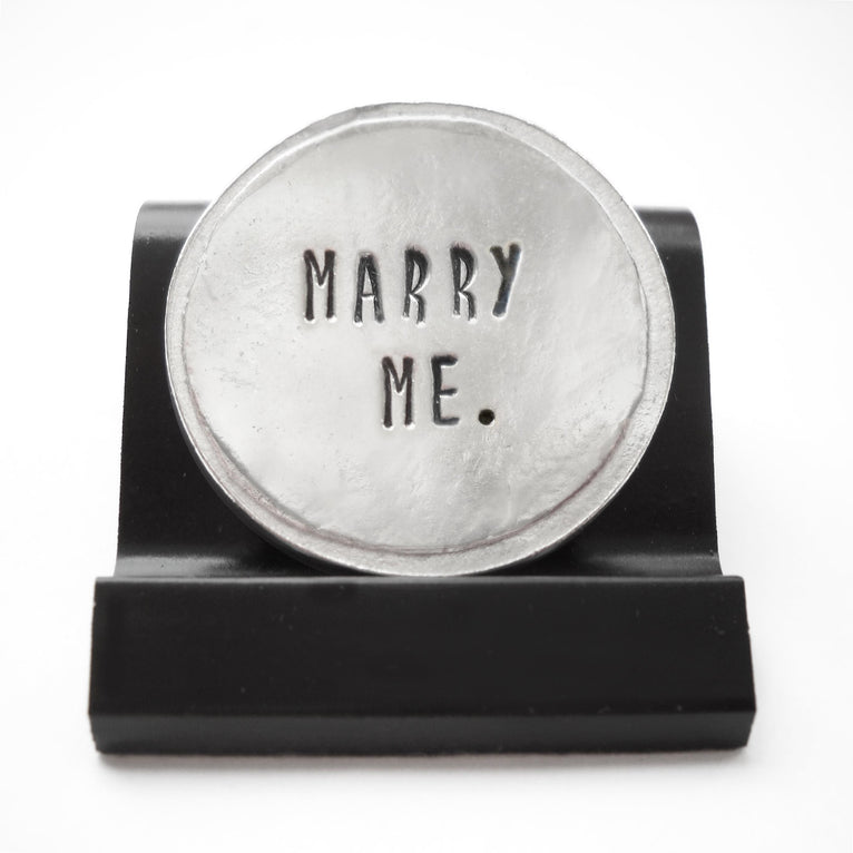 Marry Me Courage Coin