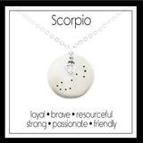 Scorpio Zodiac Constellation Necklace