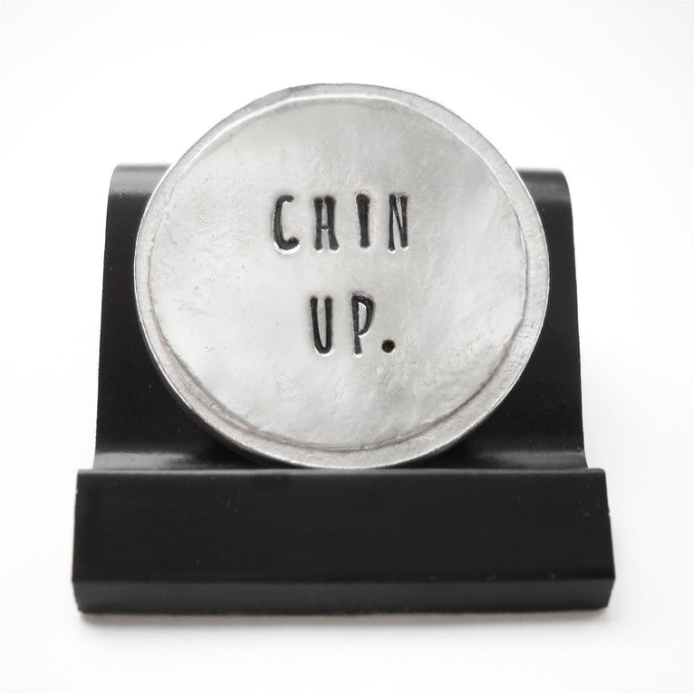 Chin Up Courage Coin