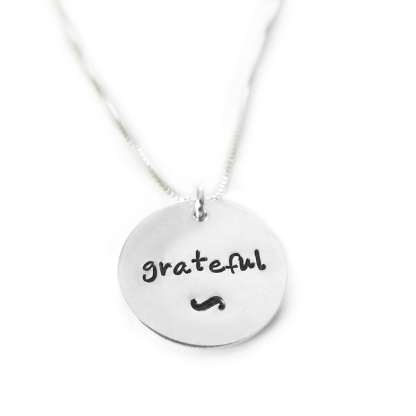 Grateful Sterling Silver Necklace