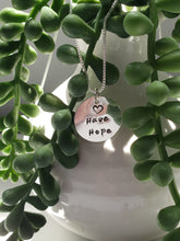 Load image into Gallery viewer, Have Hope Sterling Silver Necklace