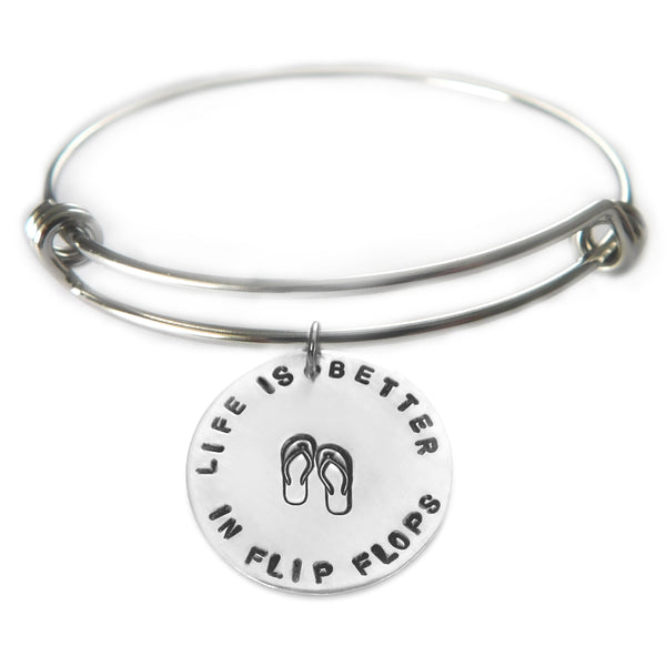 Life is Better Bracelet - You choose the phrase!