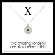 Load image into Gallery viewer, X - Alphabet Inspiring Necklace