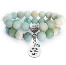 Load image into Gallery viewer, Amazonite Beaded Beauty Bracelet