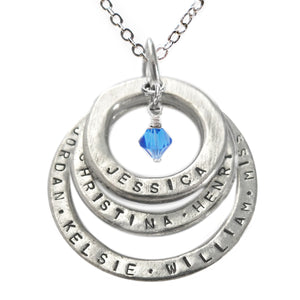 Trinity of Life Necklace