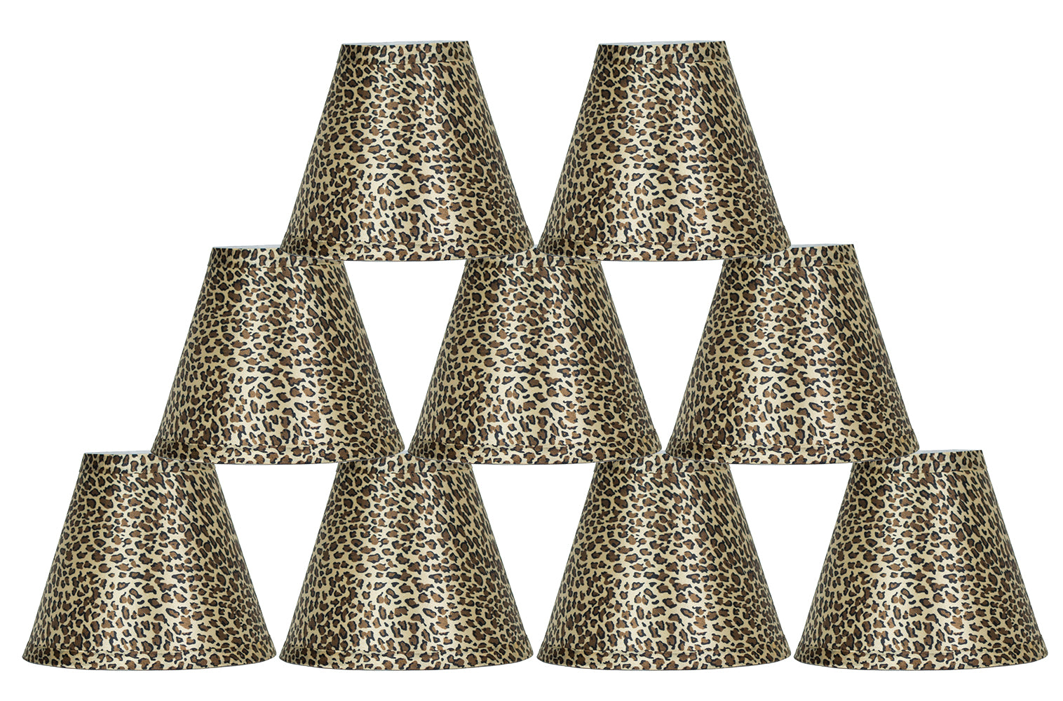 Animal Print 6-inch Chandelier Lamp Shade - 3 Print Options
