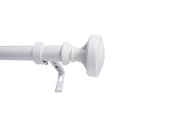 "Semplice 1"" Diameter Adjustable Curtain Rod"