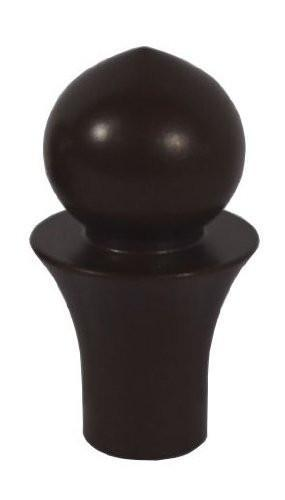 Toledo Lamp Finial For Lamp Shades, 2-1/6-inch