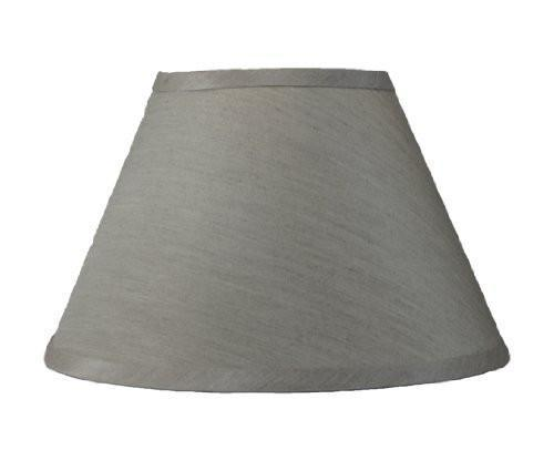 Coolie Faux Silk 16-inch Hardback Lampshade - 6 Colors