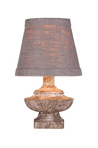 Phillipe Mini Accent Lamp, Faux Stone Finish