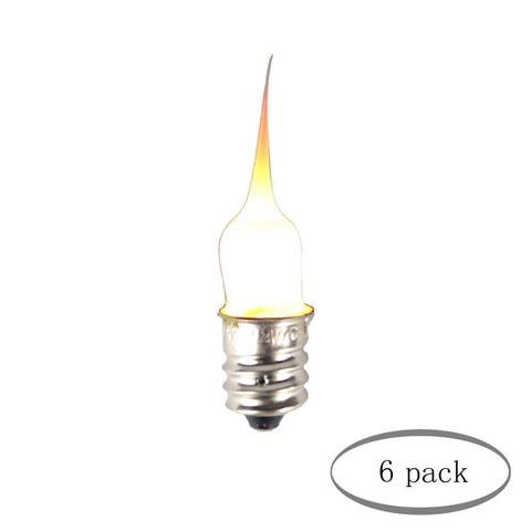 Urbanest Silicone Decorative Mini Night Light Bulbs, 3 Watt, 1/2-inch Diameter, 2-inch Length