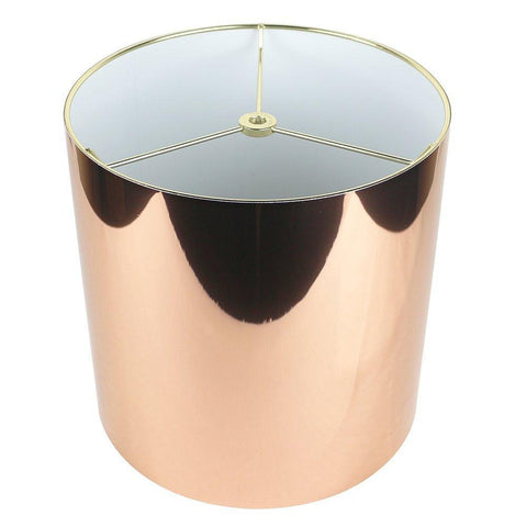 Classic Drum Metallic Lampshade