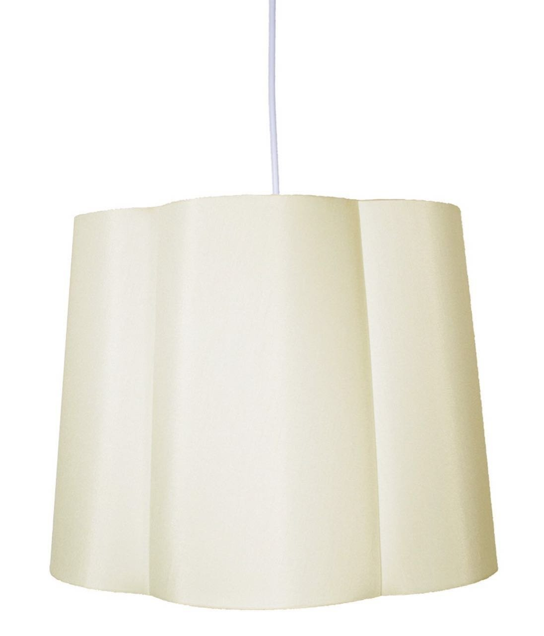 Imani Shade Pendant with Hanging Light Kit, 16-inch Diameter, 12-inch Height