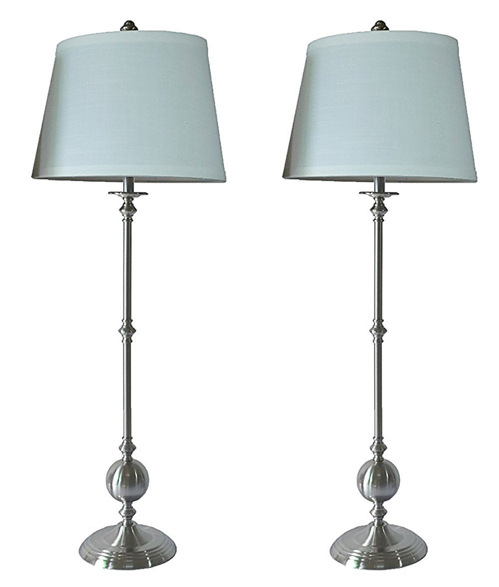 Set of 2 Bastille Buffet Lamps with Shades urbanest