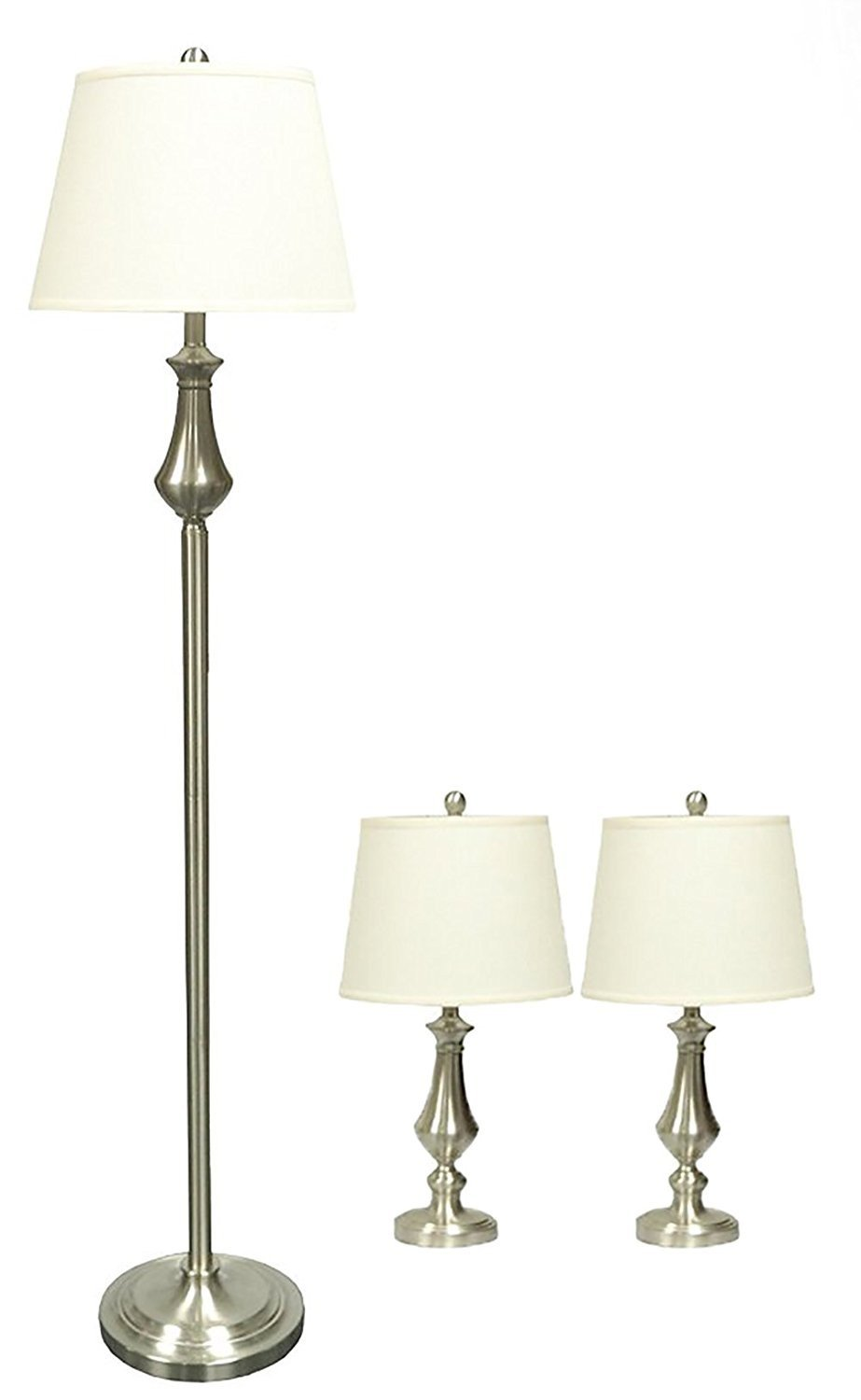 Grant 3-piece Table and Floor Lamp Set