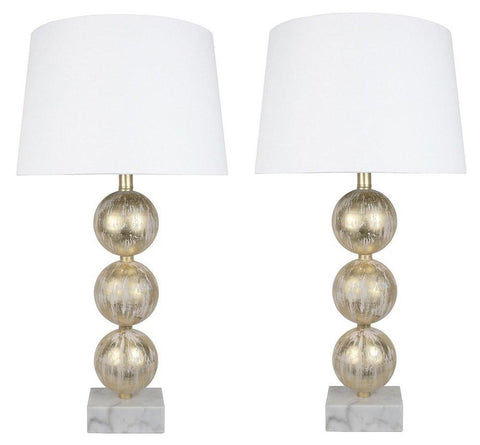 Set of 2 Voille Table Lamps