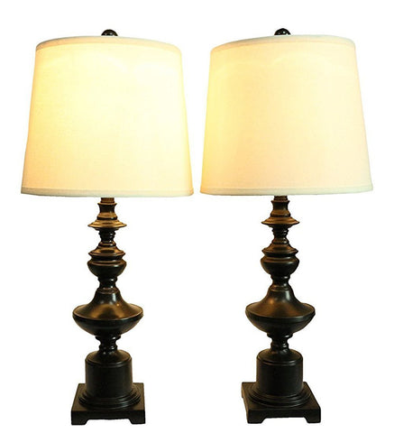 Set of 2 Winston Table Lamps, Oil-Rubbed Bronze