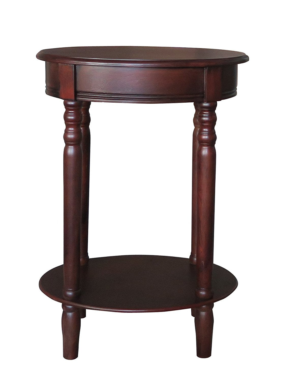 Woodbury Oval Accent Table with Drawer - 6 Finishes