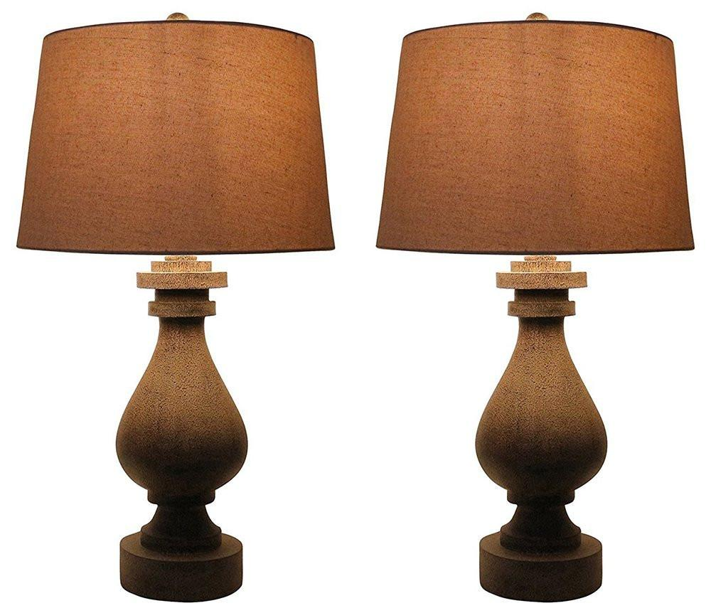 Set of 2 Cote Table Lamps