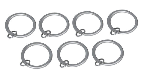 2-inch Metal Curtain Drapery Eyelet Rings - 7 Finishes