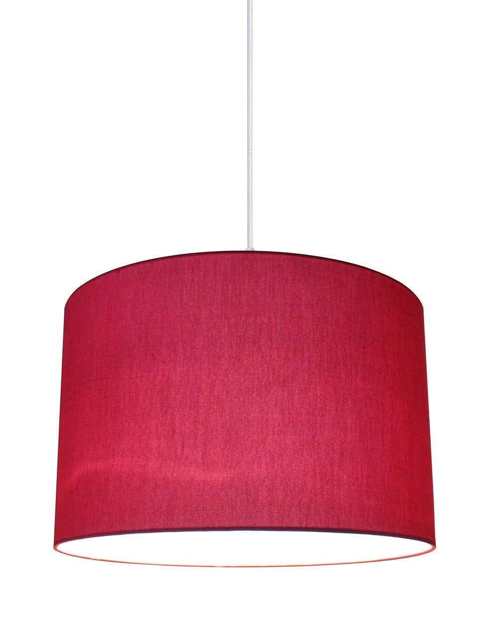 Marie Duo Color Shade Pendant with Hanging Light Kit, 15 1/2-inch Diameter, 10-inch Height
