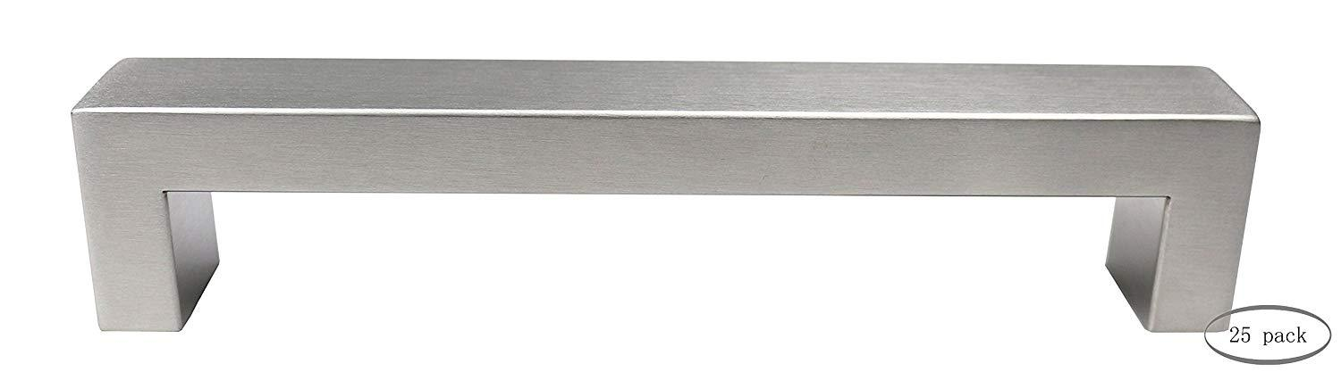 Urbanest Set of 25 Cabinet Pulls, Brushed Satin Nickel