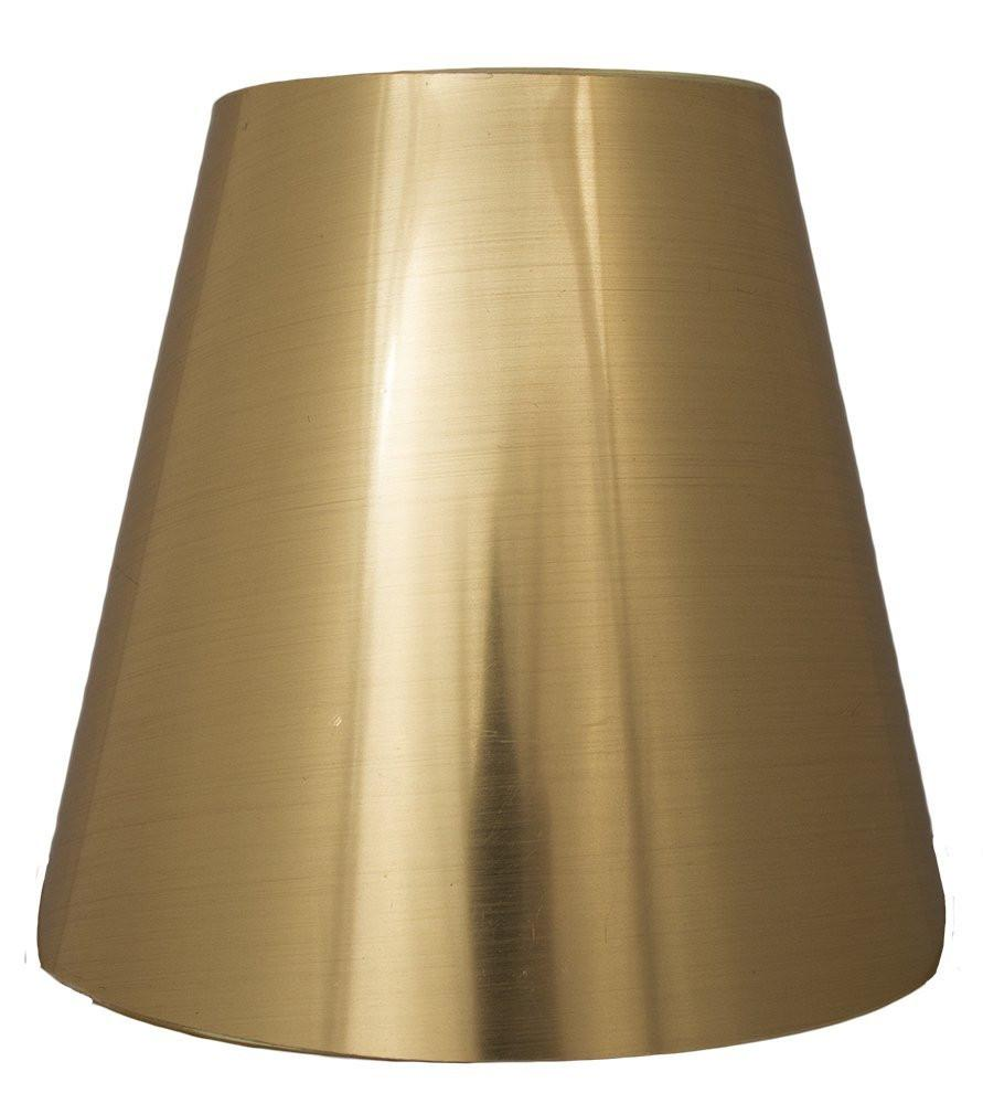 Metallic Hardback 5-inch Chandelier Lamp Shade - 3 Colors