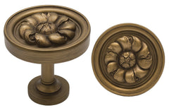 Large Petros Drapery Medallion Holdback - 3 Finishes