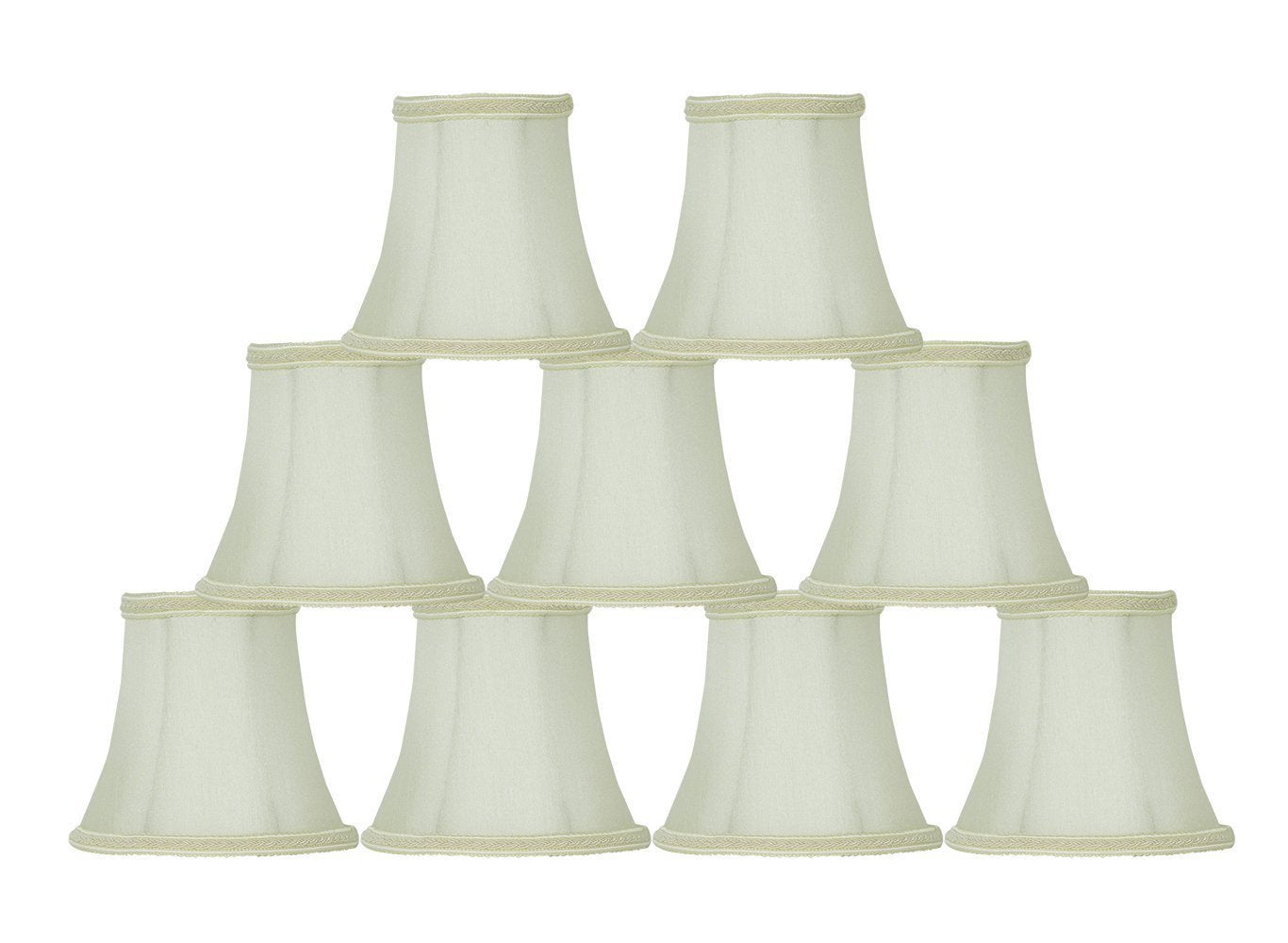 Silk Bell Chandelier Lamp Shade - 9 Colors
