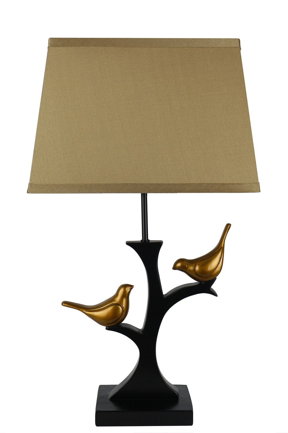 Resting Bird Table Lamp with Shade