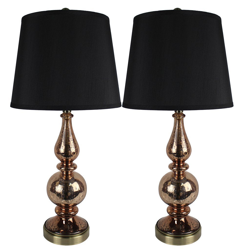 Set of 2 Andelain Table Lamps with Shades