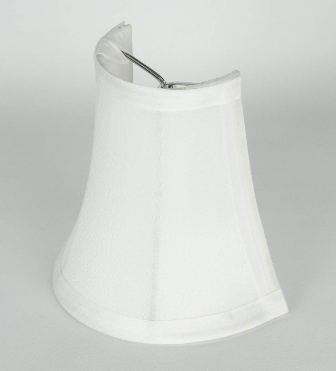 "Set of 2 3x5x5"" Clip-on Wall Sconce Half Shade"