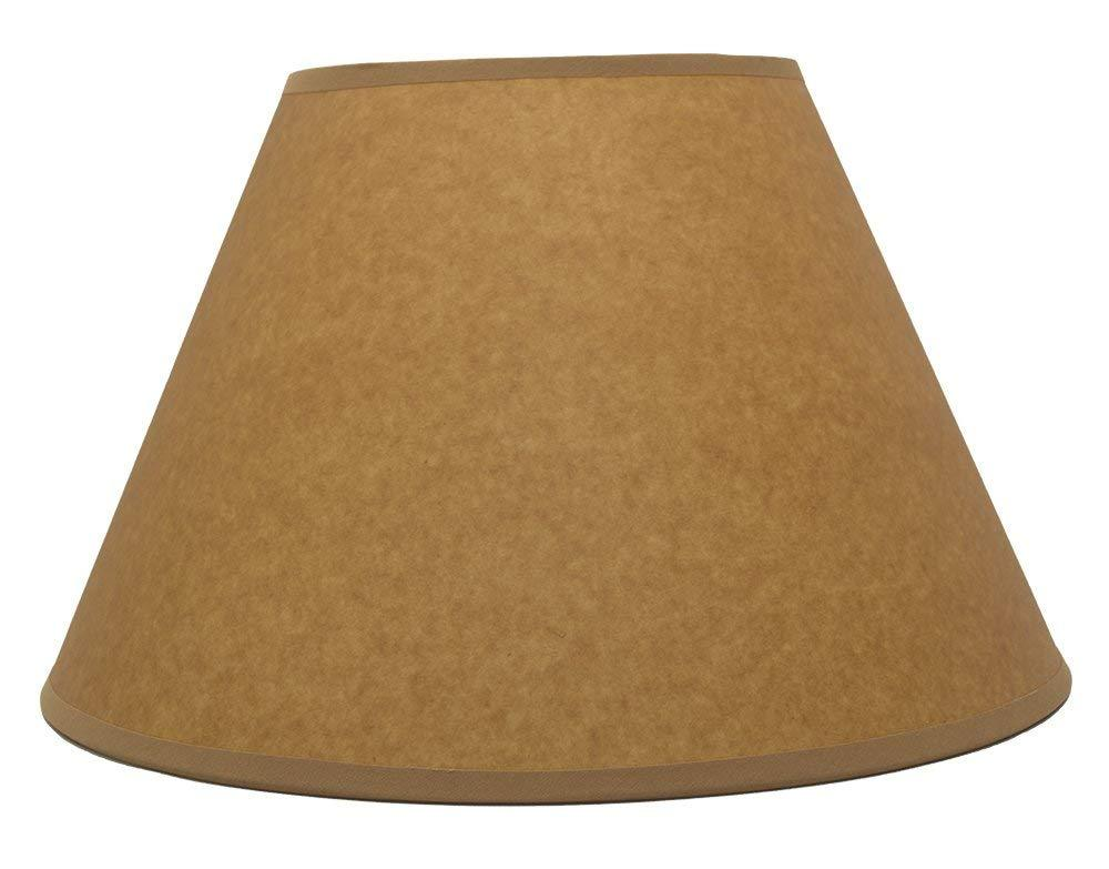 Oil Paper Coolie Hardback Lampshade, Spider Washer Fitter