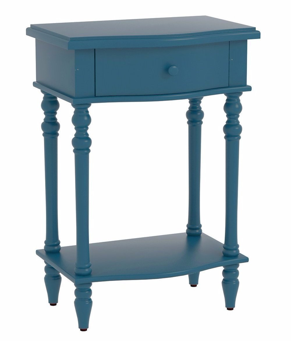 Jefferson Accent End Table with Drawer - 6 Finishes