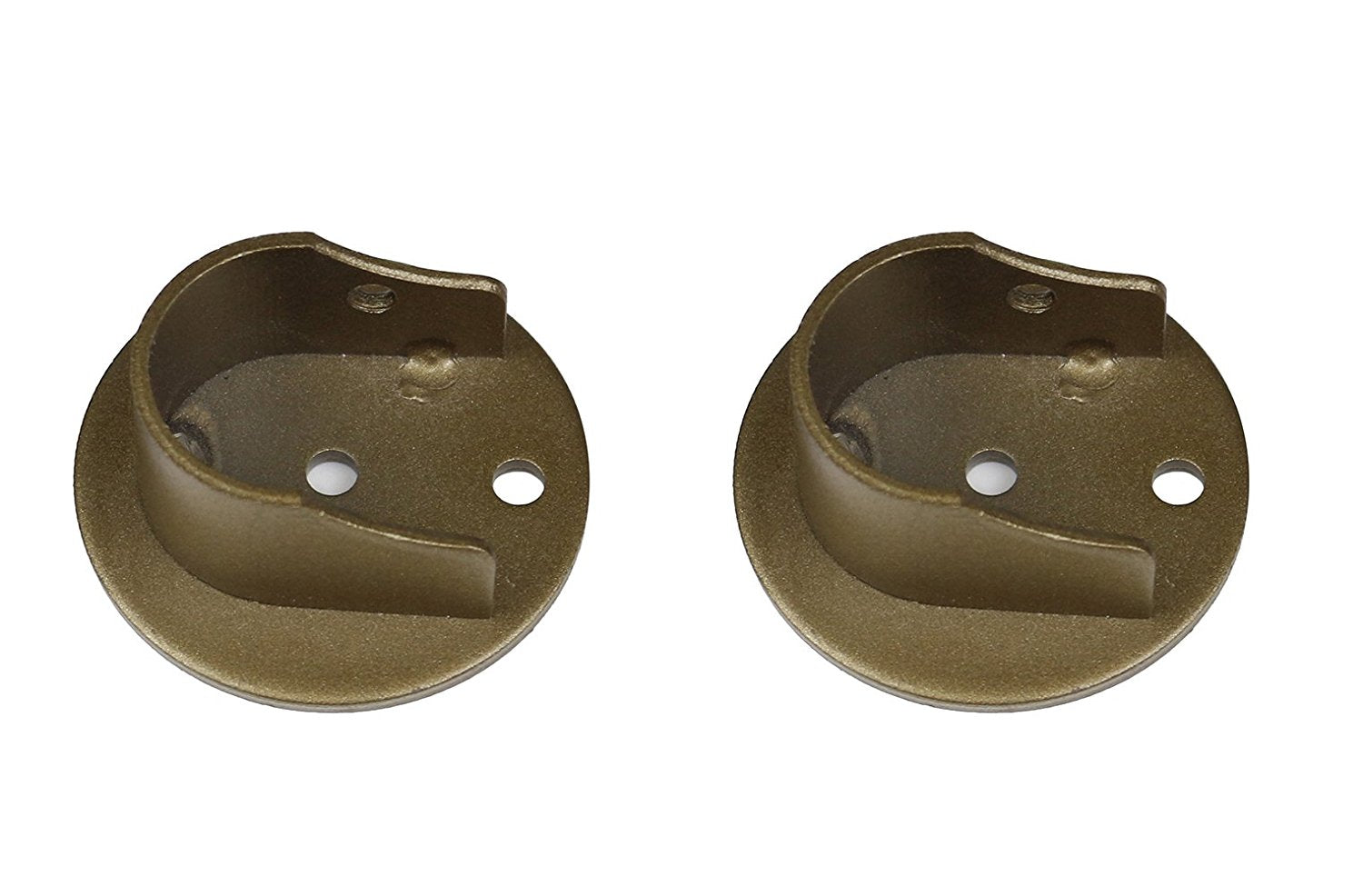 Set Of 2 Inside Mount Brackets For 1 1 8 Inch To 1 1 4
