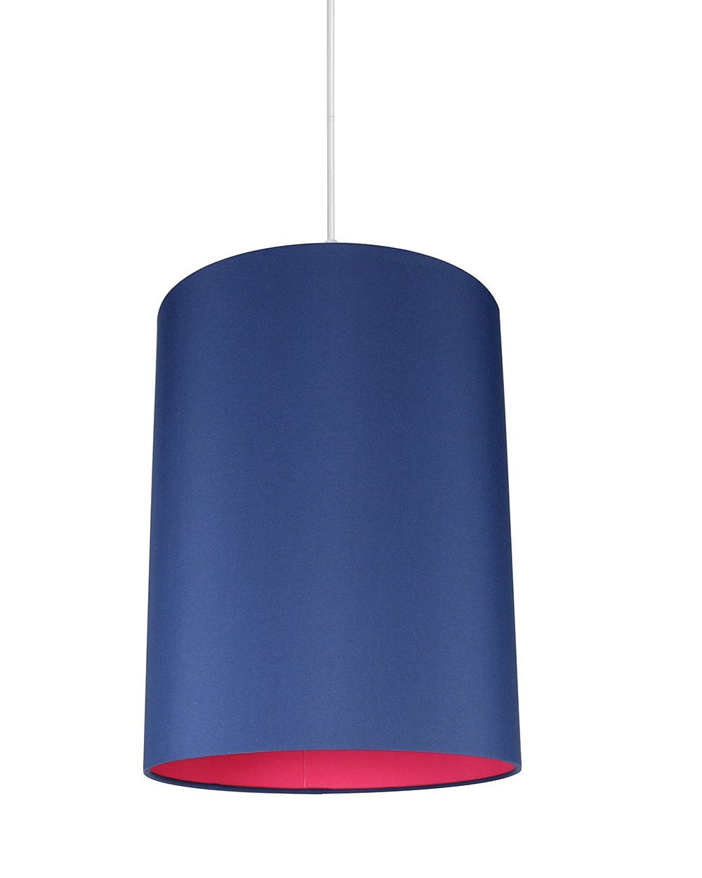 Mona Duo Color Shade Pendant with Hanging Light Kit - 10 Colors
