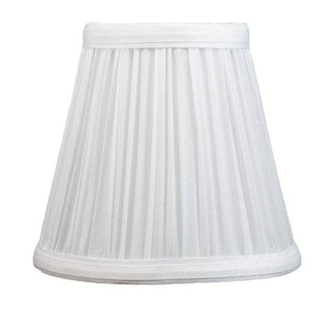 Mushroom Pleated 5-inch Chandelier Lamp Shade - 6 Colors