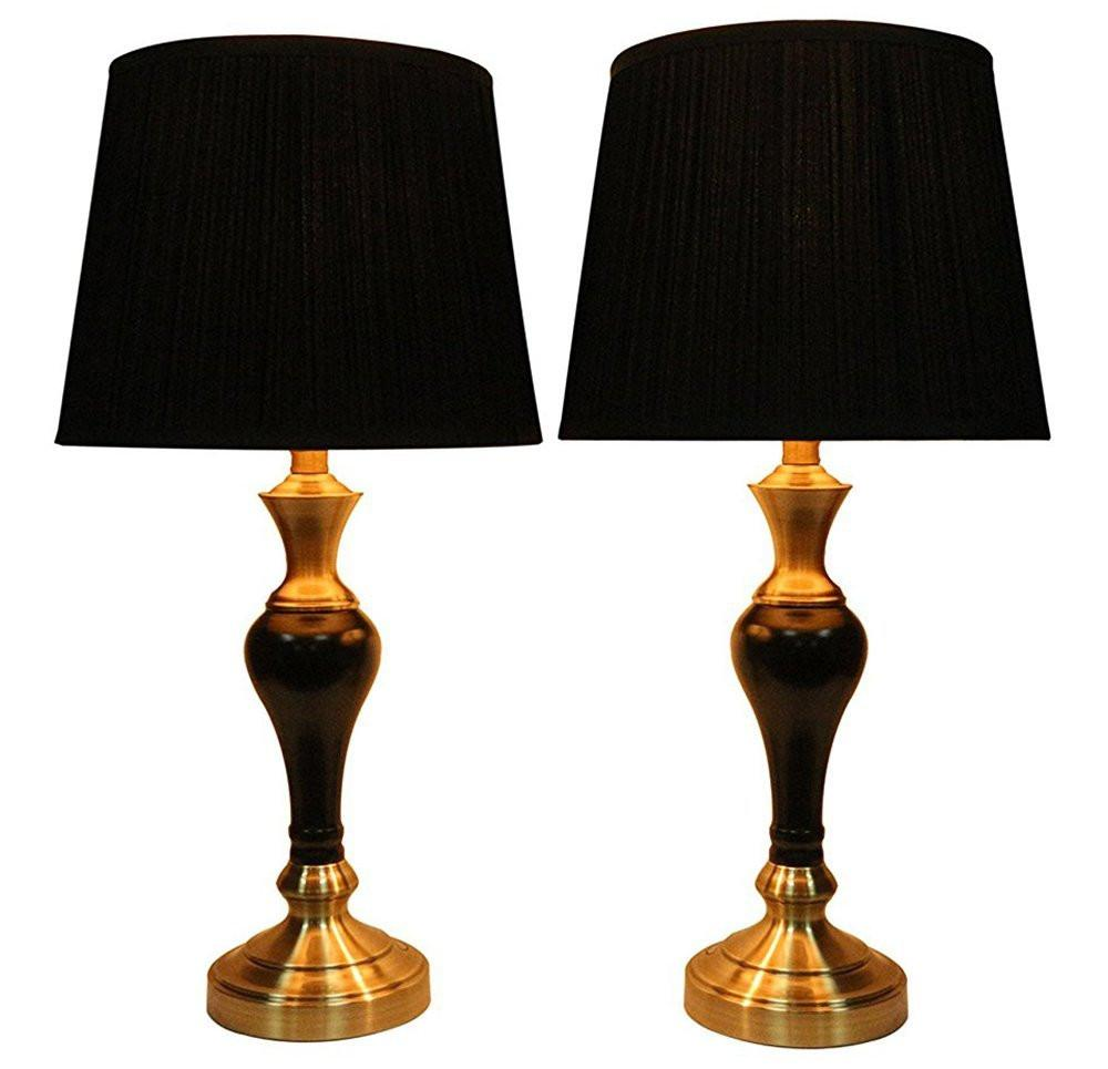 Lincolnshire Table Lamps with Shades - 5 Colors