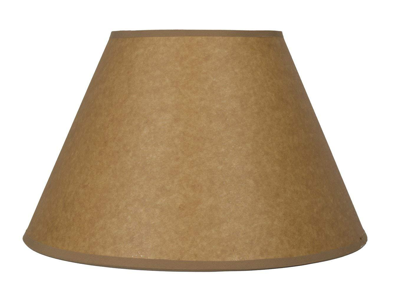Urbanest Oil Paper Coolie Hardback Lampshade, Spider Washer Fitter
