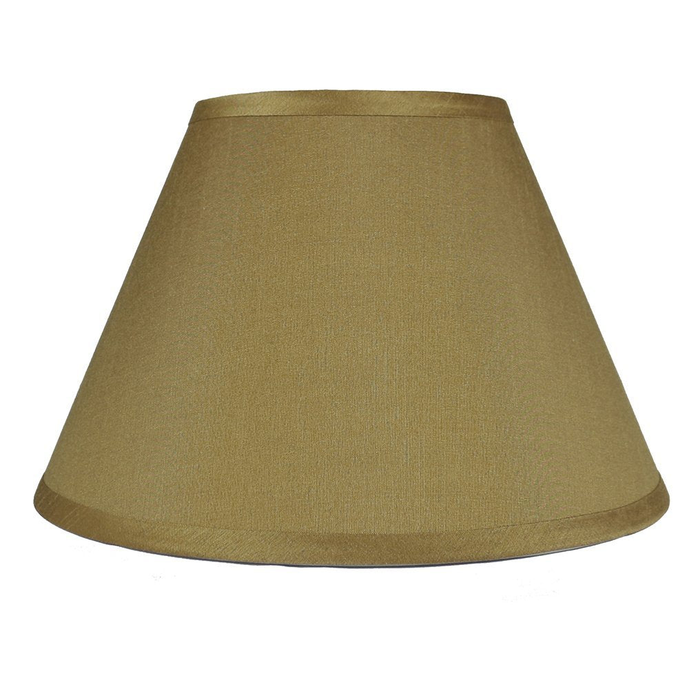 Coolie Faux Silk 14-inch Hardback Lampshade - 6 Colors